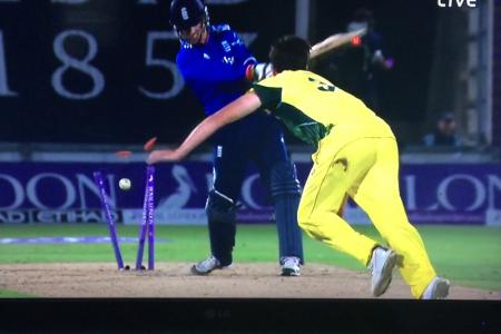 Patrick Cummins creates carnage and rattles the stumps against England in his New Balance CCS