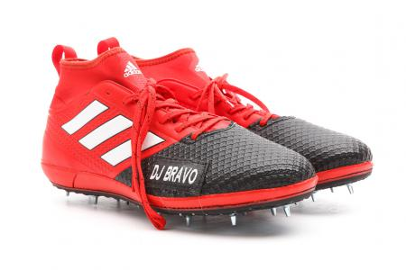 Dwayne Bravo's Adidas football boot conversion for Melbourne Renegades