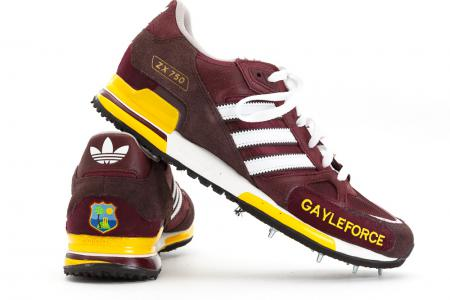 Chris Gayle West Indies Adidas
