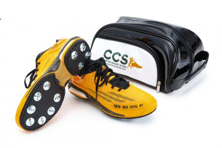 "Dwayne Bravo's ""New Big Dog 47"" Adidas with CCS Bag"