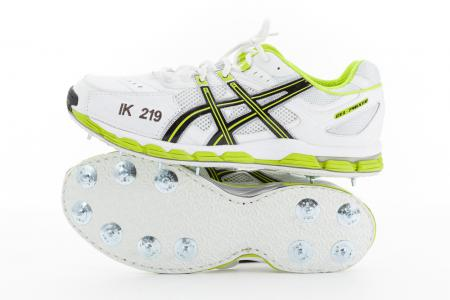 Imran Khan's Full Spiked Asics for Pakistan