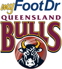 my FootDr™ Queensland Bulls